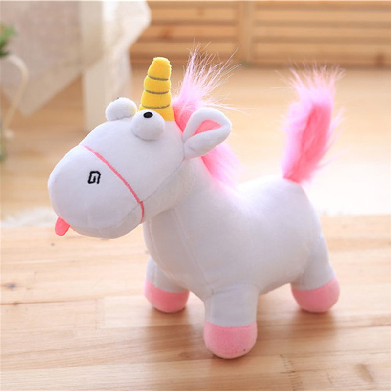 35cm Lovely Unicorn Plush Stuffed Toys Cartoon Rainbow Pony Dash Horse Dolls Toys Cute Unicorn Plush Toy Gift for Children Kids 6pcs plants vs zombies plush toys 30cm plush game toy for children birthday gift