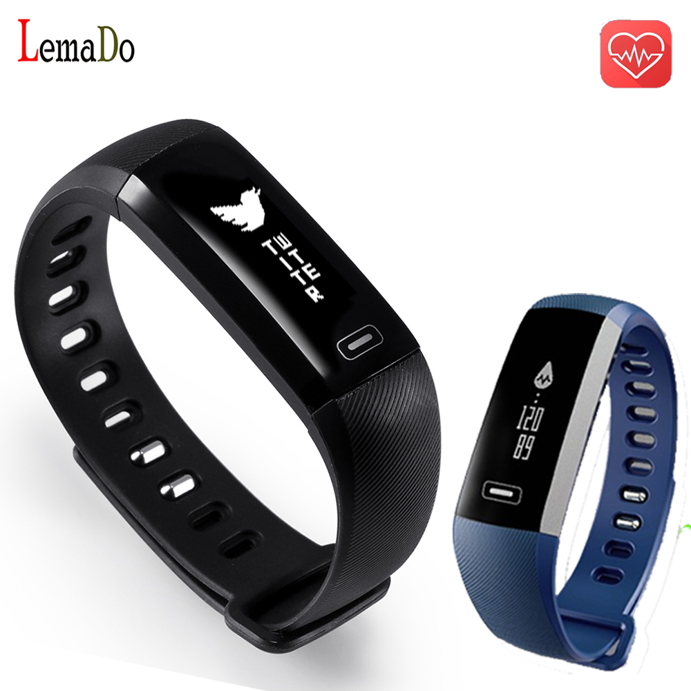 R5 PRO Smart wrist Band Heart rate Blood Pressure Oxygen Sleep monitor Sport Bracelet Watch intelligent