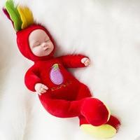 Silicone Reborn Baby Doll 35CM Toy For Kids Sleeping Reborn Baby Dolls Girls Appease Accompany Sleep