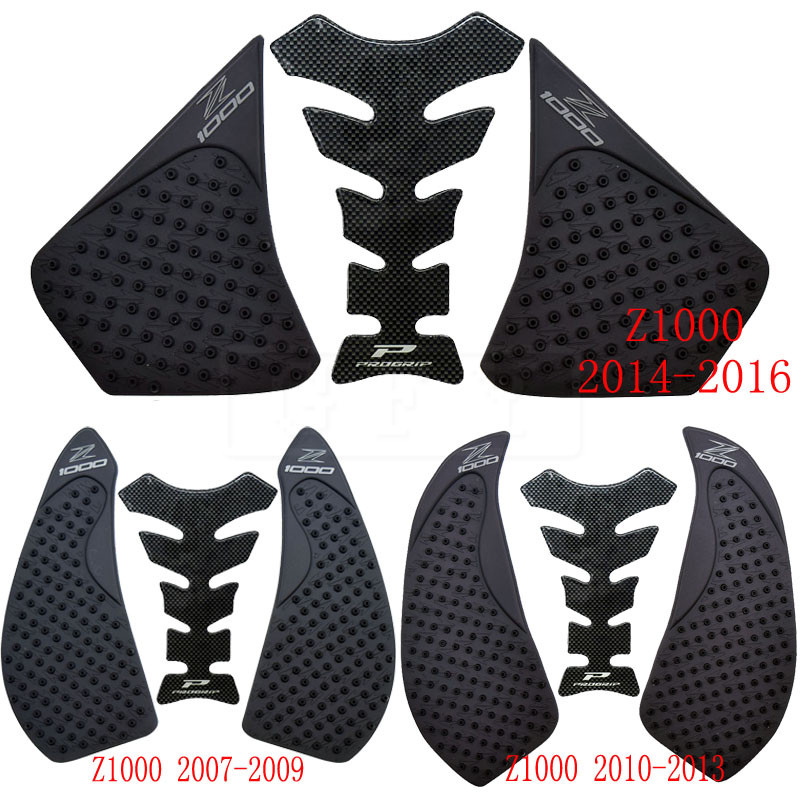 For Kawasaki Z1000 2007 2008 2009 2010 2011 2012 2013 2014 2015 2016 Protector Anti Slip Tank Pad Sticker Gas 3M Decal
