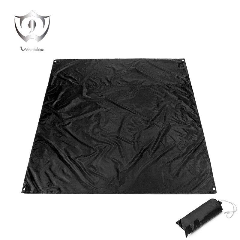 WnnideoTarps Mat , Outdoor Lightweight Multipurpose Waterproof Camping Tarp for Picnics, Tent Footprint, and Sunshade 210cm*200c onetigris hexagonal sil tarp 13x10ft for bivy tent waterproof