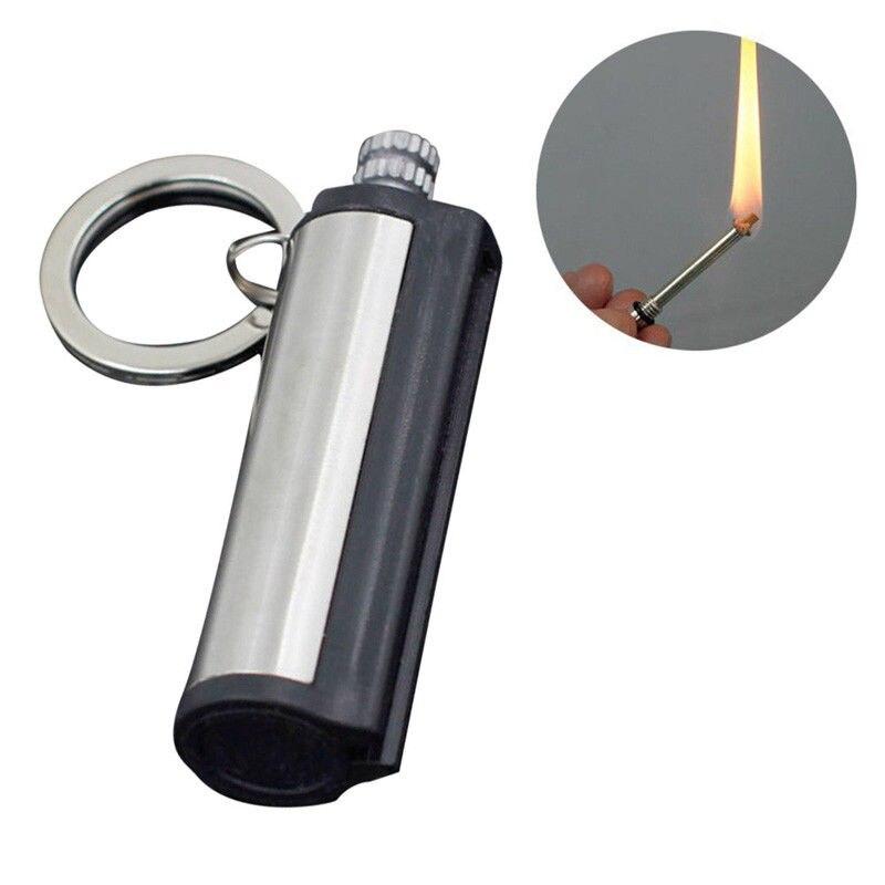 Instant Emergency Fire Starter Flint Match Lighter Lighter Metal Outdoor Hiking Camping Safety Survival Tools New