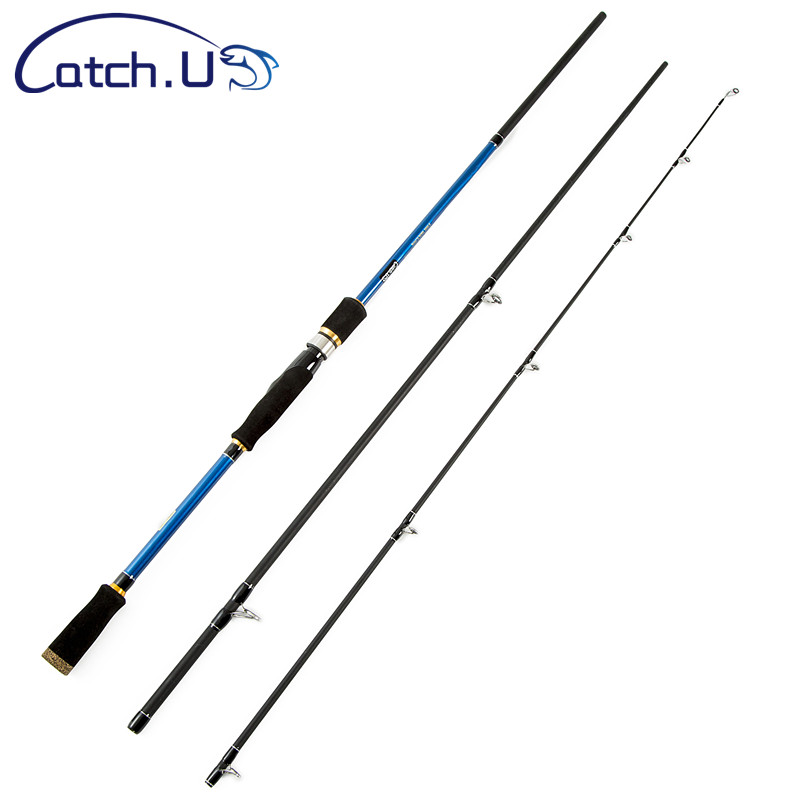 Catch U 15 40g MH 1.8m 2.1m 2.4m Spinning Rod Hard Carbon