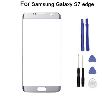 """10pcs/lot For Samsung Galaxy S7 edge SM-G935 G935F G935FD 5.5""""  touch Screen glass Front Glass Touch Panel Replacement + tool"""