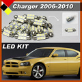 Car Interior LED Package Lights Kit Auto Dome License Plate Map Lamps White Free Postage Fit For Dodge Charger 2006-2010
