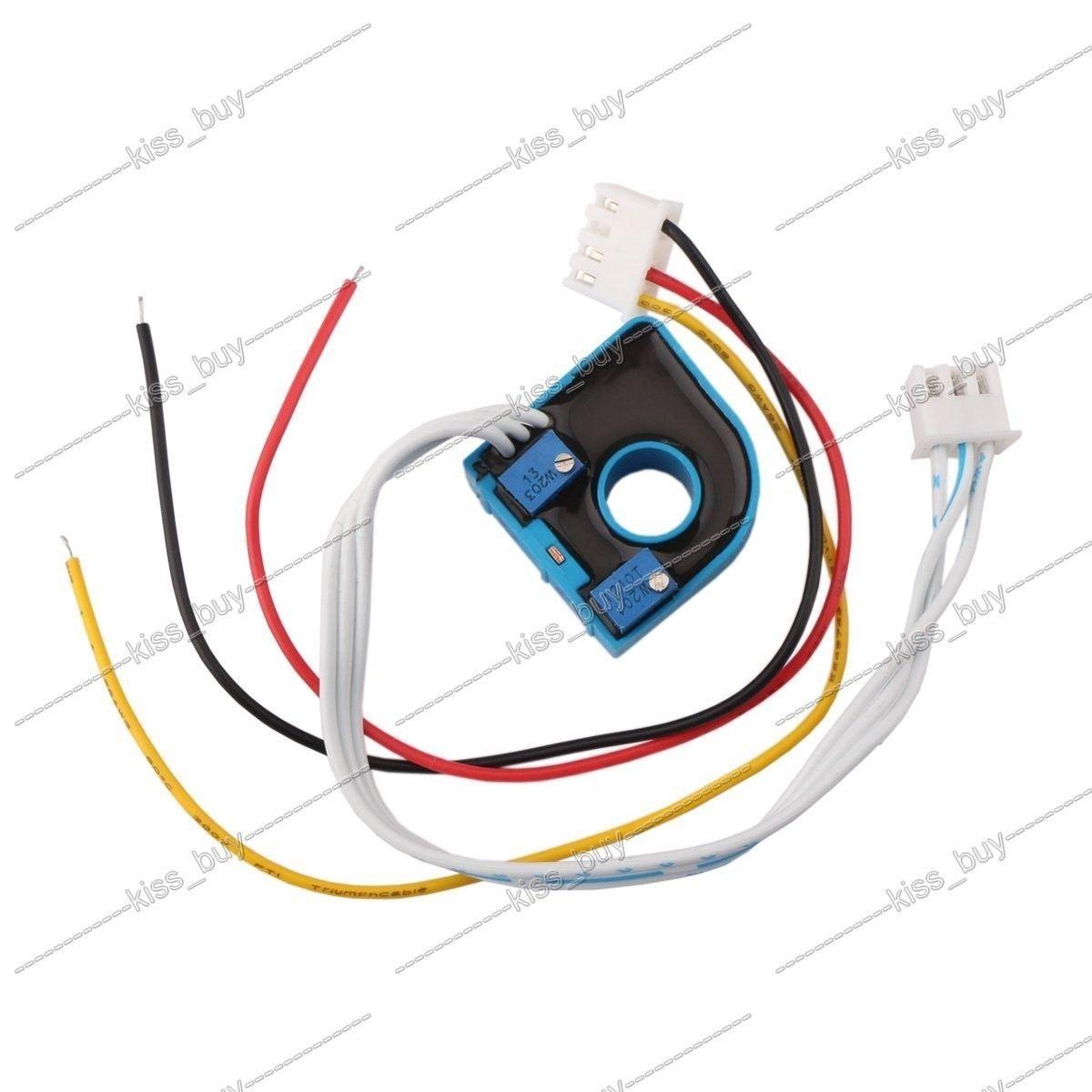 DC 0~600V/50A Volt Amp Meter Dual display Voltage Current 12V 24V CAR Voltmeter Ammeter Charge Discharge Solar Battery Monitor
