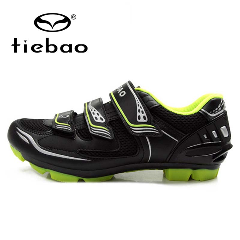 TIEBAO Professional Men Women MTB Shoes Self-locking Mountain Bike Bicycle Cycling Shoes  Breathable Sport Shoes zapatillas
