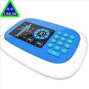 Image 2 - Wielofunkcyjny wyświetlacz HD ładowania podwójne wyjście akupunktura urządzenia do masażu cyfrowy elektroniczny domu fizjoterapia instrument