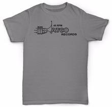 45 RPM Atco Records men's t-shirt