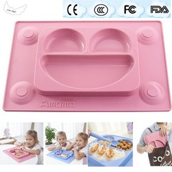 Baby silicone plate for children safe bowl tableware feeding dishes baby placemat plate tray suction patterns.jpg 250x250