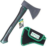 LAOA Woodworking Axe Outdoor Hunting Carpenter Axes Camping Tools With bag