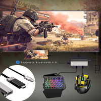 4K 60Hz Bluetooth PUBG Mobile Gamepad Controller Keyboard Mouse Converter Plug and Play Adapter For PS3 Android iOS Phone to PC