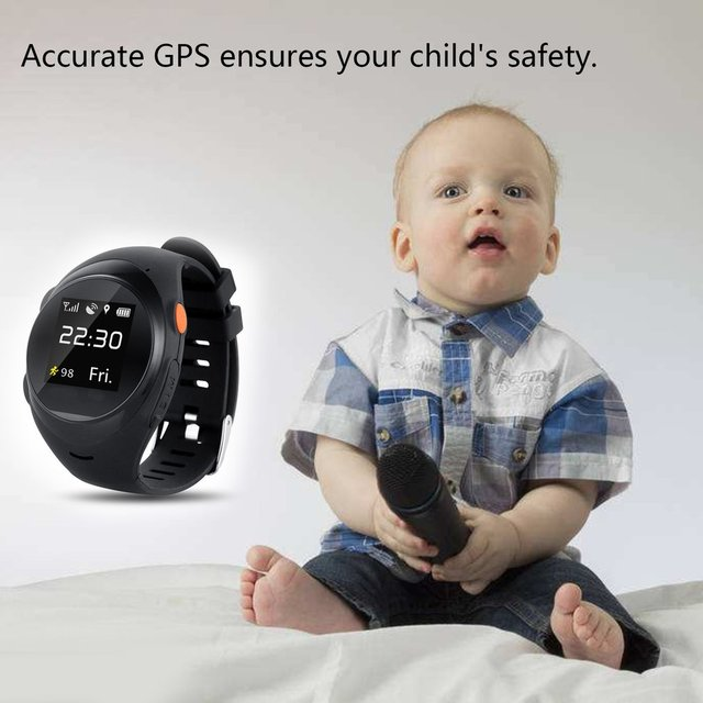 X83 GPS Positioning Smart Watch For Children SOS Emergency Alarm Watch 1.2 Inch Screen Baby Safe Watch For Android  IOS Phone Children Watches