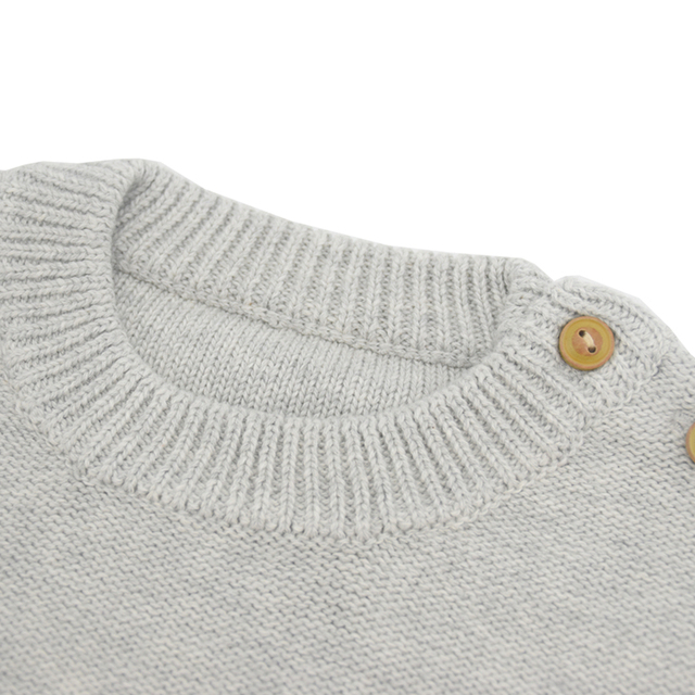 Vinnytido Baby Boy Sweater Colorful LED Light Jumper Boys Sweater Pullover Casual Plain Lighting Baby Knitted Sweater