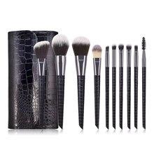 Professional Beauty Make Up Tools Makeup Brushes Set with Bag Foundation Powder Blush Eyeshadow Eyebrow Eye Lash Cosmetics Brush