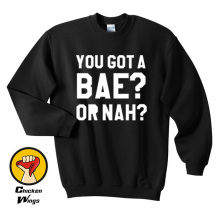 You Got a Bae Or Nah Shirt Zayummm Shirts Crewneck Sweatshirt Unisex More Colors XS - 2XL