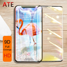 9D Full coverage Tempered Glass For IPhone X XR XS MAX Protective Glass on For IPhone 7 8 6 6s Plus X 10 Screen Protector Film