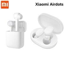 Оригинальный Xiaomi Airdots Pro Наушники Air Bluetooth беспроводной гарнитура стерео ANC переключатель ENC Авто пауза коснитесь управление наушники