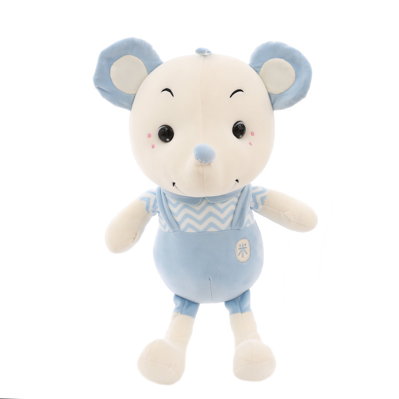 35/45/60cm Creative new plush toy doll cute little rice rat accompanying baby for children birthday gift