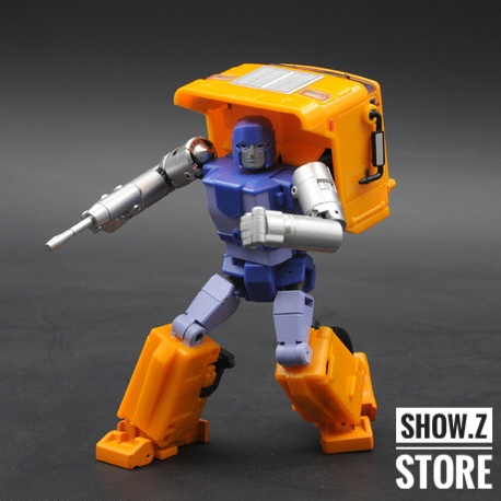 [Show.Z Store] BadCube OTS-01 Huff Old Time Series Huffer OTS MP Masterpiece Transformation Action Figure [show z store] fanstoys ft 06x sever iron dibots no 3 g1 masterpiece limited edition mp transformation action figure instock