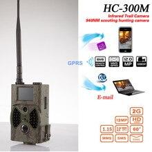 12MP 1080 P Chasse caméra MMS GSM HC300M vision nocturne de La Faune trail caméra avec antenne à gain élevé