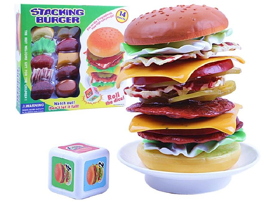Stack A Burger Game