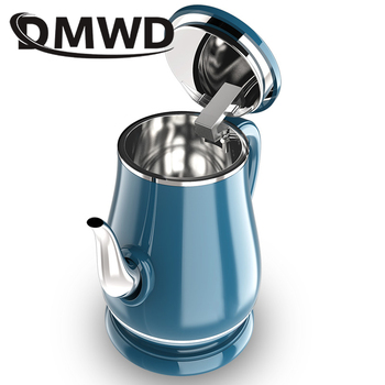 DMWD 1.8L Long Spout Mouth Electric Kettle Hot Water Quick Heating Stainless Steel Auto Power off Boiler Teapot Heater 1500W EU|Electric Kettles| |  -