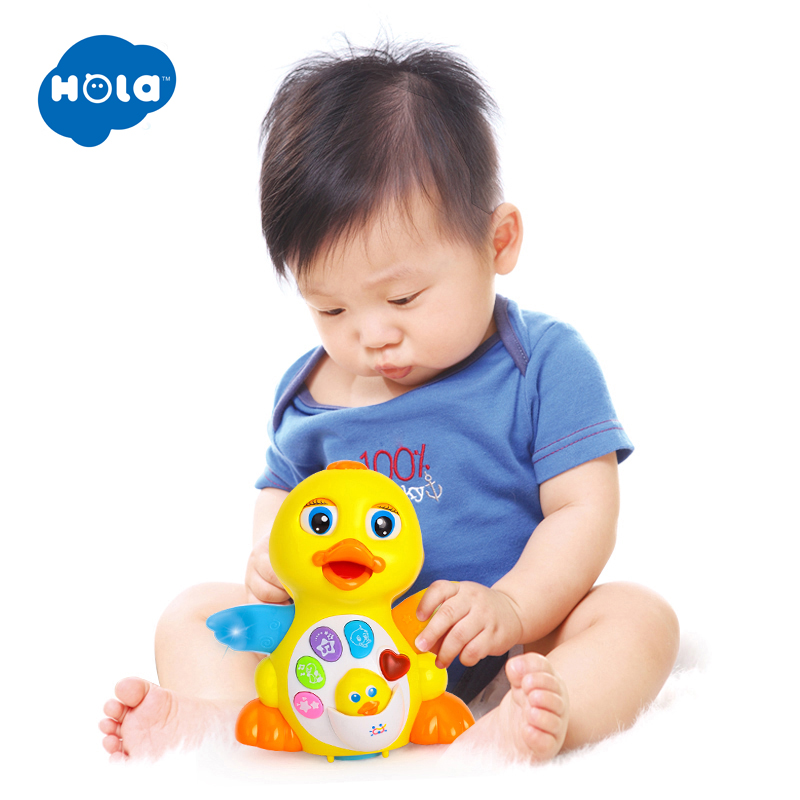 Dancing Duck with Light Music Electric Universal Smiley Face Fun Keyboard with Music Light in Electronic Pets from Toys Hobbies
