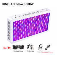 Luz LED de cultivo 1500w 2000w 3000w lámpara de plantas 410-730nm para plantas de interior y invernadero de flores tienda de cultivo