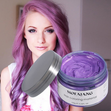 Cute Easy-to-Use Bright Temporary Hair Coloring Wax