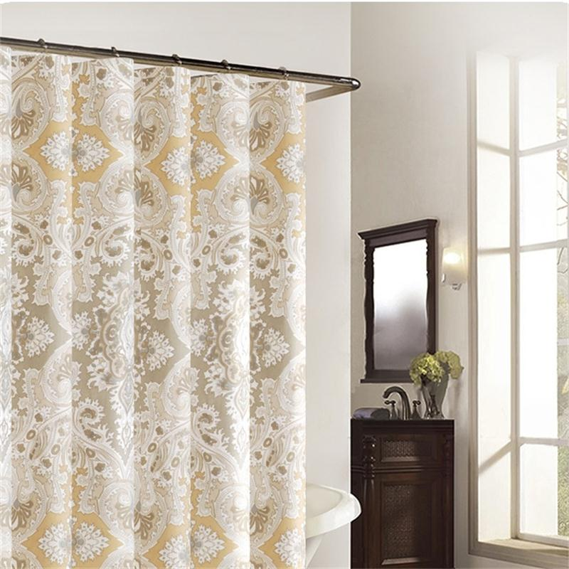 Elegant High End Bathroom Bath Curtain Waterproof Parion Thickening Door Shower In Curtains From Home