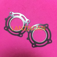 Free Shipping Hangkai 2 Stroke 4 Hp Outboard Boat Motors Cylinder Head Cover Paper Gaskets
