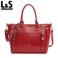 L S New Fashion Women Crossbody Bags Vintage Casual Female Handbag Tote Fashion Design Leather Shoulder