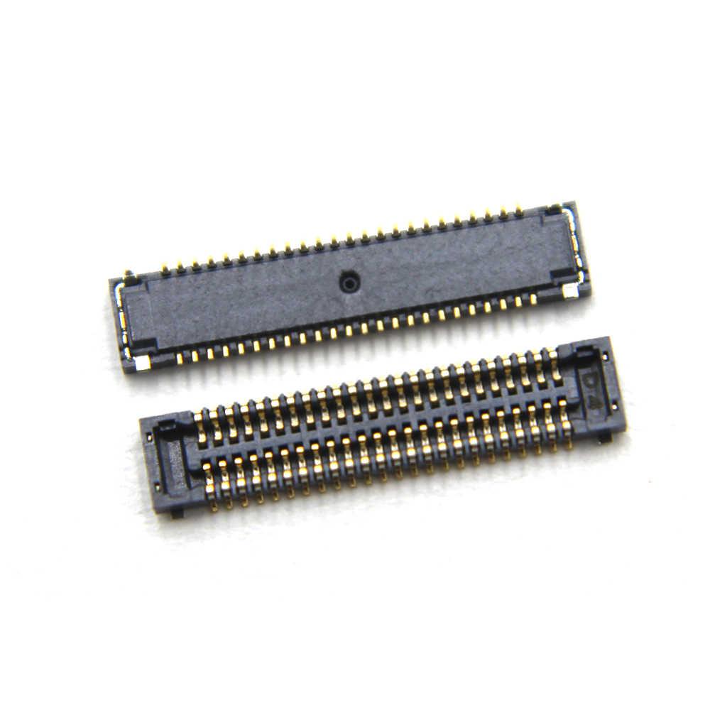 10 قطعة/الوحدة fpc موصل لسامسونج غالاكسي s6 حافة G925 G925F/Note5 lcd عرض الشاشة موصل على فليكس