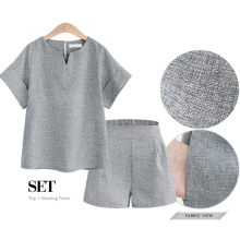 Plus size women outfits 2 piece set top and shorts 2019 summer runway 3xl 4xl 5xl large tracksuit suits sportswear gray clothing