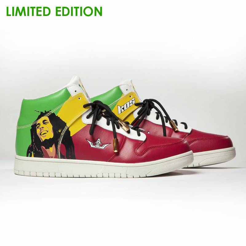 New Arrival Limited Edition 100% Premium Leather Suede,Bob Marley, Rasta Sneakers Shoes with Epacket Shipping Wordwide. sneakers