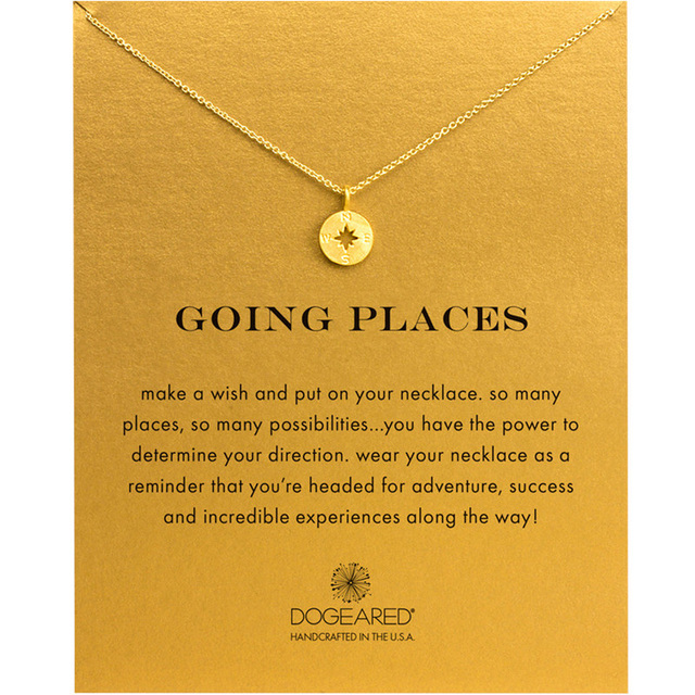 Contracted Joker Unicorn Compass North Star Pendant Necklace Chocker Pendant For Women Fashion Jewelry Alloy Choker Necklace
