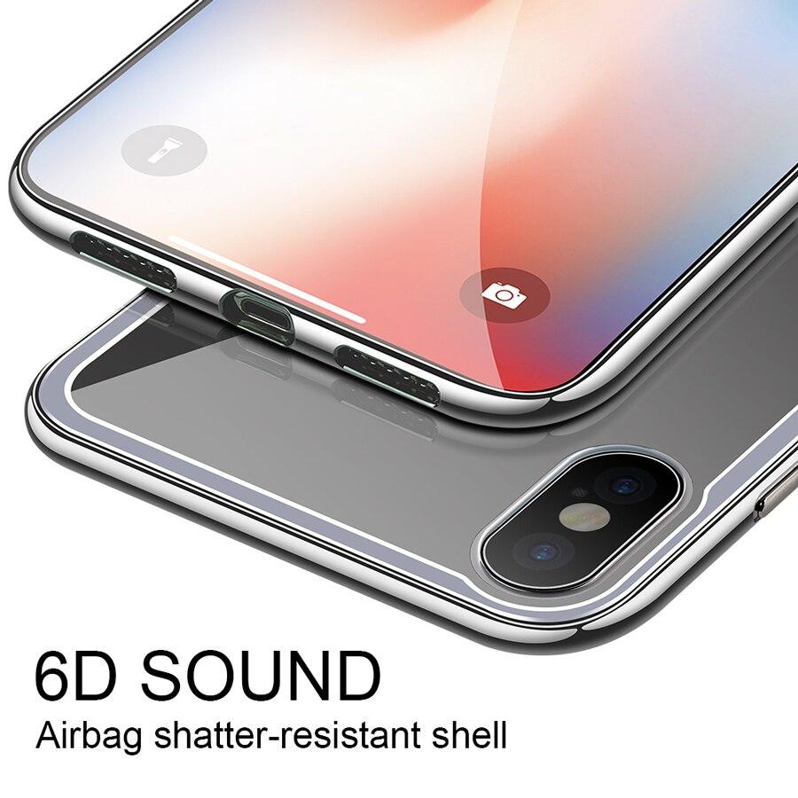 case iphone x glass