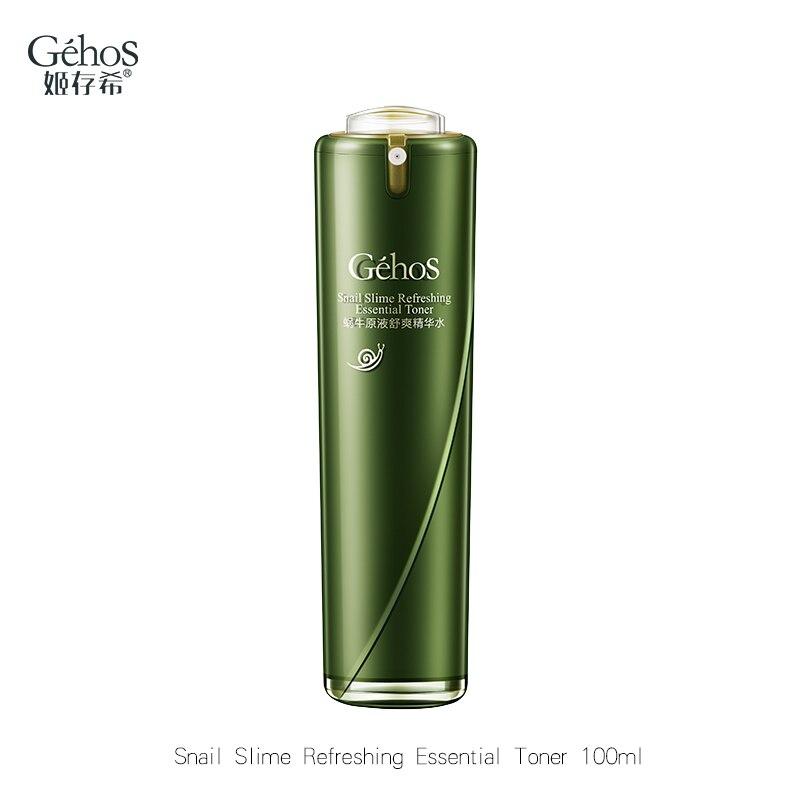 GEHOS Snail Slime Refreshing Essential Toner Moisturizing Deep Nourishing Repair Daily Facial Toner Shipping Free Skin Care