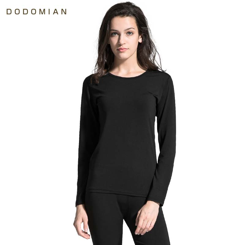 2019 Winter Thermal Underwear Tops+Pants Women Long Johns Warm Solid Thermo Ondergoed Dames O-Neck Thick Female Basic Underwear