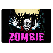 Funny Zombie Print Entrance Doormat Nonslip Kitchen Living Room Floor Door Mat 40x60cm Entry Outdoor Front Welcome Mats