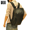 2017 New Mens Backpack High Quality Designer Brand Solid Men's PU Leather Backpack Travel bag School Bags YA0165