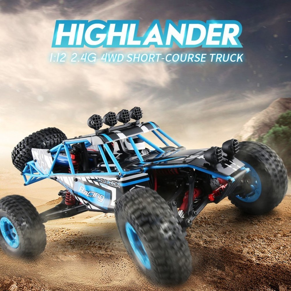 JJRC Q39 RC Car HIGHLANDER 1:12 4WD RC Desert Truck RTR 35km/H Fast Speed High-Torque Servo 7.4V 1500mAh LiPo Off Road Cars jjrc q39 84 fy clo1 wheel for q39 rc car 2pcs page 8