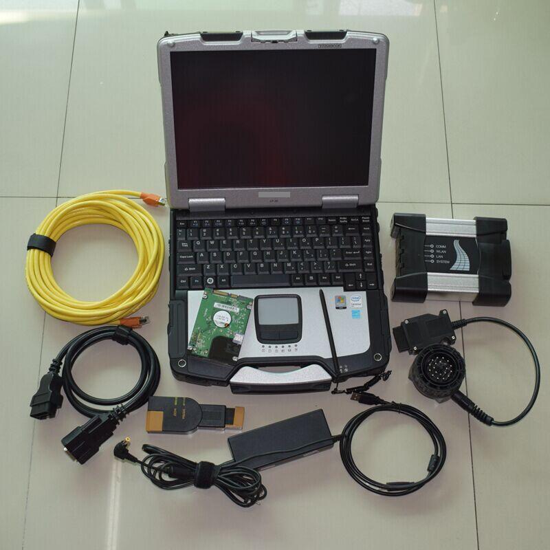 ISTA D P Многоязычная для BMW ICOM следующий диагностический и программный инструмент с cf30 ноутбук 4 ГБ ноутбук программное обеспечение v2018.12 hdd 500 Г...