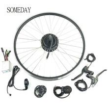 24V250W электрическое преобразование велосипедов комплект задней кассеты ступицы двигателя заднего колеса с дисплеем LED900S