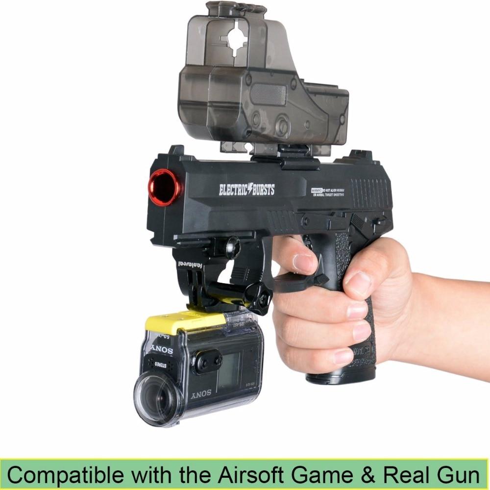 Fantaseal Picatinny Gun Rail Mount Airsoft Gun Shotgun Adapter för - Kamera och foto - Foto 6