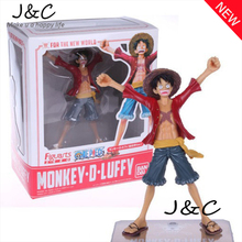 Free Shipping Hot Sale 17CM Two years later in the new world One Piece Monkey D Luffy action figure toys Christmas toys