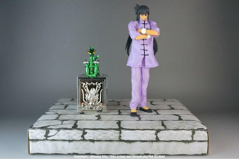Jacksdo Saint Seiya Myth Cloth EX Dragon Shiryu Casual Wear Ver Action Figure