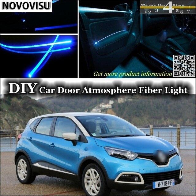 NOVOVISU Pour Renault Captur/Samsung QM3 intérieur Lumière Ambiante ...
