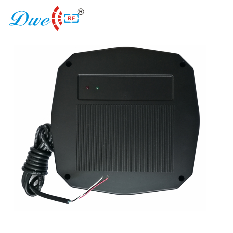 DWE CC RF access control wiegand proximity long range reader 70 to 100cm build in buzzer and led rfid reader with card dwe cc rf security control 70 to 100cm waterproof 125khz proximity range reader for car parking